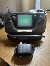 Sega Game Gear Black Handheld Console