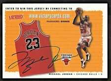 MICHAEL JORDAN VICTORY IMHO BEST AUTO SIGNED AUTOGRAPH EXCELLENT EXAMPLE