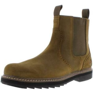 Timberland Mens Squall Canyon Leather Chelsea Ankle Boots Shoes BHFO 2817