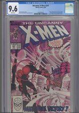 Uncanny X-Men #247 CGC 9.6 1989 Master Mold, Nimrod, Shaw, Senator Kelly App
