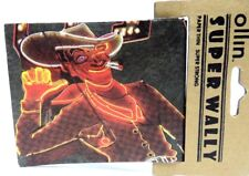Las Vegas Cowboy Theme WALLET Tyvek Ollin Super Wally Vegas Gambling Casino