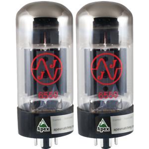 Vacuum Tube, 6550, JJ Electronics, Apex Matched Pair, Power