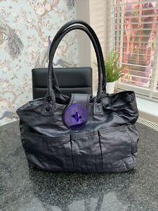 DIESEL Shoulder Bag In Dark Purple . Good Condition