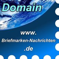 www.briefmarken-nachrichten.de - Domain / Internet-Adresse / Web-Adresse / URL