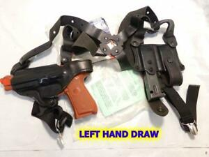 LEFT 11D 86 DeSantis New York UC Shoulder Gun Holster for BERETTA 92 92FS 96 92C
