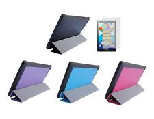"Slim Folio Skin Cover Case + Screen Protector for Lenovo Tab 2 A8-50 8"" Tablet"