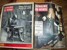1953   SACHA << SEMAINE DU MONDE < LINE RENAUD