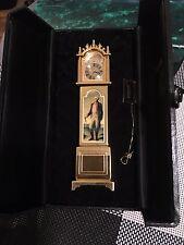 Bulova Lot of 1 MiniatureMini BoutiqueB0008 GEORGE WASHINGTON Collectible Clock.