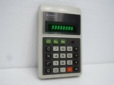 Vintage Rare Sanyo CX 8136NE Electronic Calculator made in Japan