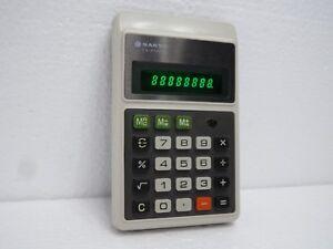 Vintage Rare Sanyo CX 8136NE Electronic Calculator made in Japan