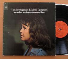 S 65037 Rita Reys Sings Michel Legrand 1972 EX/VG Gatefold Made in Holland