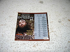 Duck Dynasty Collectable Missouri State Lottery Ticket Non Winner Willie