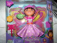 *Fisher Price DORA THE EXPLORER    MAGICAL FAIRY DORA DOLL