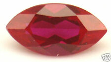 11x5 mm 1.6 cts Marquise cut lab created Ruby