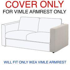 1 IKEA VIMLE COVER SLIPCOVER FOR ARMRESTS  Gunnared beige
