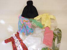 ESF-05664Ältere 10 St.  Kleidung passend für Barbie/Petra-Puppen