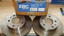 PEUGEOT BOXER & FIAT DUCATO EBC FRONT STANDARD VENTED BRAKE DISCS P/N D1616