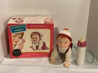 Vintage Battery Operated Crawling Baby Japan Rare Original Box