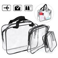 Set of 3 - Waterproof Toiletry Travel Bag for On Air Business Bathroom Swimming