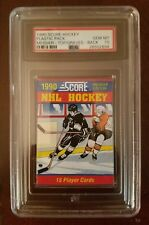 PSA 10 1990 Score Hockey Pack MARK MESSIER Top / ADAM GRAVES Rookie Card RC Back