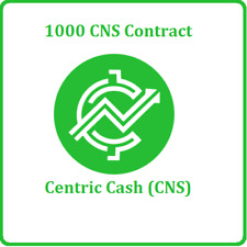 1000 Centric Cash (1,000) CNS CRYPTO MINING-CONTRACT Crypto Currency