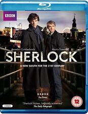 SHERLOCK SEASON 1: ORIGINAL UK CUT Blu Ray, 2010 50i BD PAL capable players only
