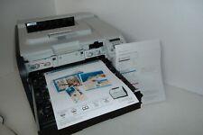 HP Color LaserJet CP2025dn Printer Duplex USB LAN LCD 1.8K Pages w/Toners CB495A