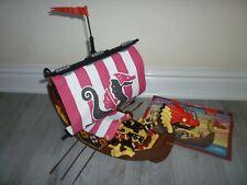 Mega Bloks Viking Ship with Instructions and Vikings