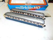 HAMO MARKLIN DC ART.8328+8428 COPPIA AUTOMOTRICI MOTORIZ+FOLLE BOX ORIGINALI