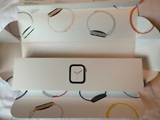Apple Watch Series 4 44 mm Stainless Steel Case with Sport Band (GPS + Cellular)