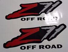 Z71  off road stickers decal, silverado tahoe GM sierra ( SET )