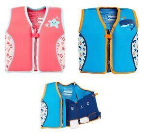 MOTHERCARE Swim Life Jacket Vest Kids Boys Girls Children's Pool Float 2-3 4-5