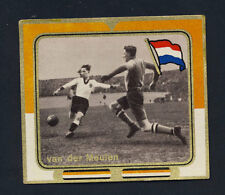 Original 1938 tobacco card Dutch National goal keeper van der Meulen HAARLEM FC