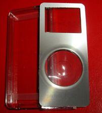 BELKIN 1st 1G gen Apple IPOD Nano Case ~ Aluminum Acrylic Shell ~GunMetal SILVER