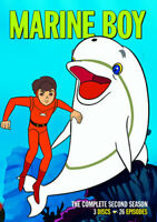 Marine Boy: The Complete Second Season (Season 2) (3 Disc) DVD NEW