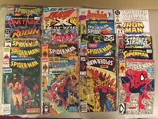 Comic Books Lot Of 21 Brand New 1990s Spiderman Dc Marvel Batman Joker Avengers