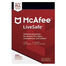 Mcafee LIVESAFE Ultimate protezione per tutti dispositivi 1 anno abbonamento