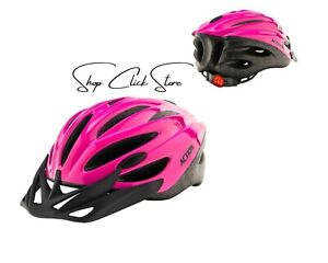 Kids Bike Helmet Pink With Light Size 52-56cm Safety Cycling