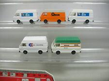 AB109-0,5# 5x Wiking H0 Volkswagen VW-LT 28: Eis, WMR, Autohansa, AutoLack, TOP