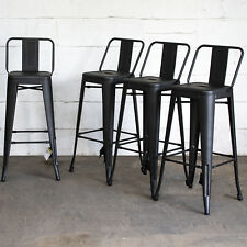 Metal Breakfast Bar Stool Seat Chair Industrial Vintage Classic Style Kitchen 2s