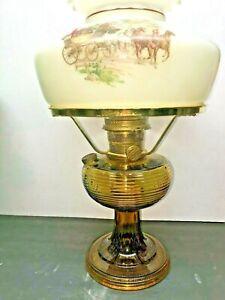 Aladdin Kerosene Lamp  Original 12\u201d  Chimney  Home and Living  Lighting  Glass Lamps  Collectible  Vintage  Table Lamp  Display Item