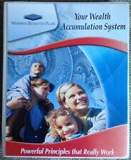 Member Benefits Plan Wealth Accumulation System Kit DVD Books Worksheets