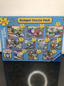 Ravensburger Bumper 10 Jigsaw Puzzles - Thomas & Friends - New & Sealed