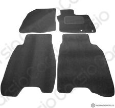 Honda Civic 2006 - 2008 Tailored Black Car Floor Mats Carpets 4pc Set 2 Holes