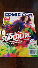 2017 SDCC COMIC CON TV GUIDE DC SUPERGIRL MELISSA BENOIST COVER LOST IN SPACE