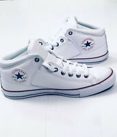 Converse Chuck Taylor All Star High Street White Leather 151053C Men's Size 11.5