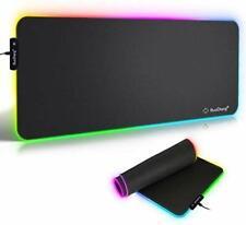 RuoCherg RGB Mauspad 780 x 300 mm Gaming Mousepad mit 7 LED Farben