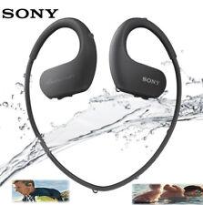 *New* SONY Walkman NW-WS413 Series Waterproof Dustproof 4GB Headphone Black