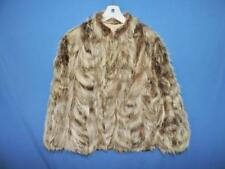 Vintage Beaver Fur Coat Size M David Green Master Furrier Alaska Winter Lined