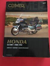 Clymer Honda GL1500 Gold Wing 1988-1992 Repair Manual : M505